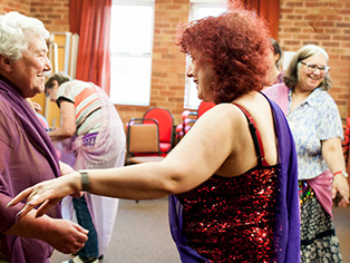Keep Dancing! Norfolk's Older Generation Learn to Belly Dance