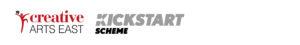 Creative Arts East and Kickstart Logos